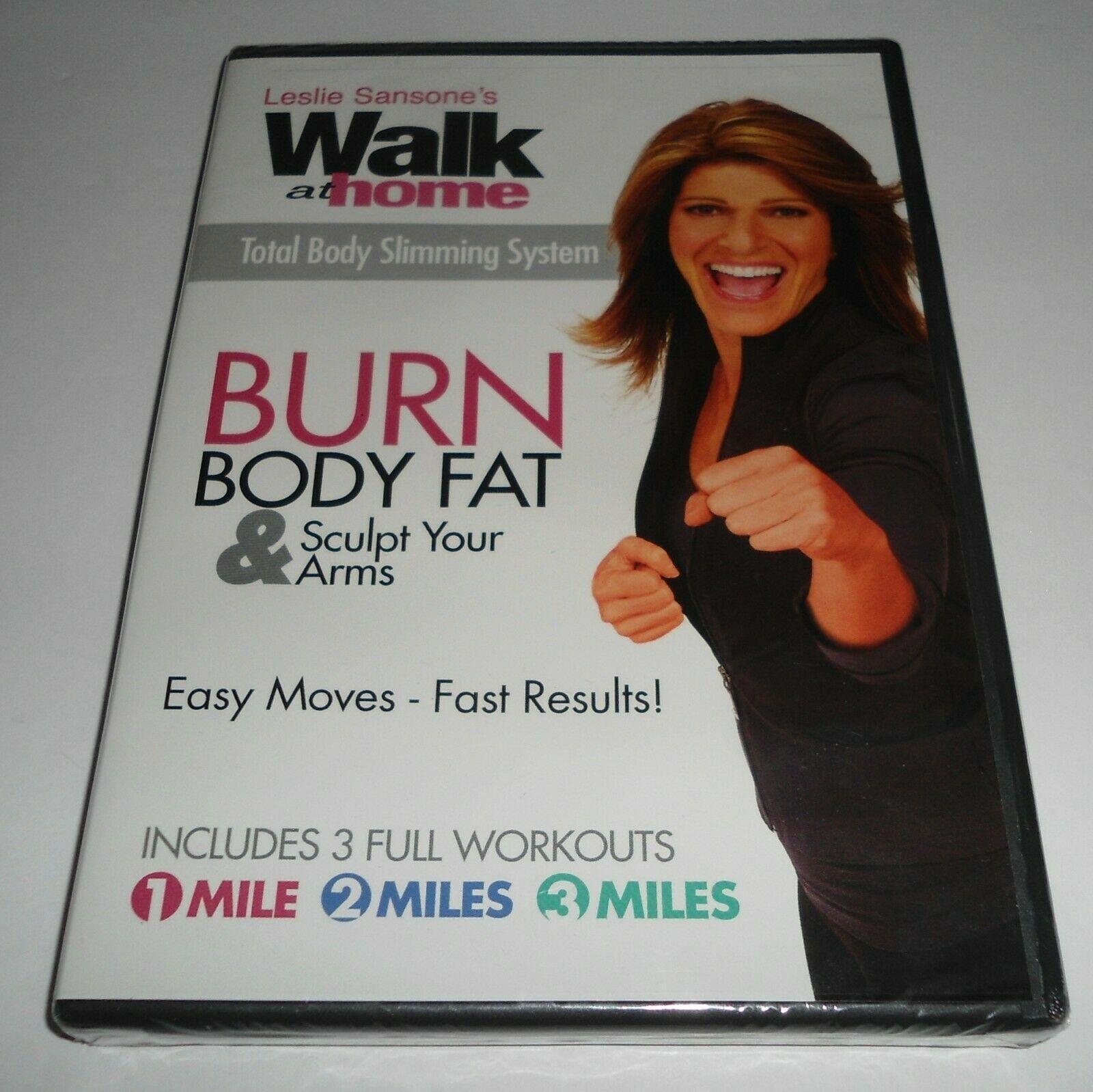 leslie sansone burn body fat & sculpt oma kaed haldooli kaalulangus
